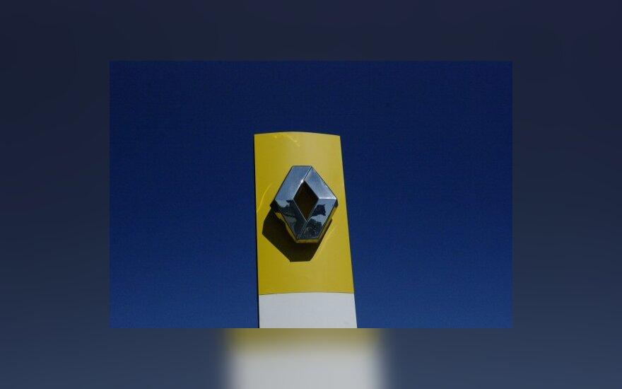 """""""Renault"""" per pirmąjį pusmetį uždirbo 780 mln. eurų"""
