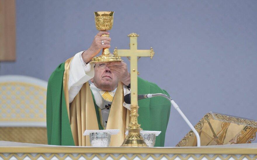 Popiežius Pranciškus: mes nesame Dievo funkcionieriai