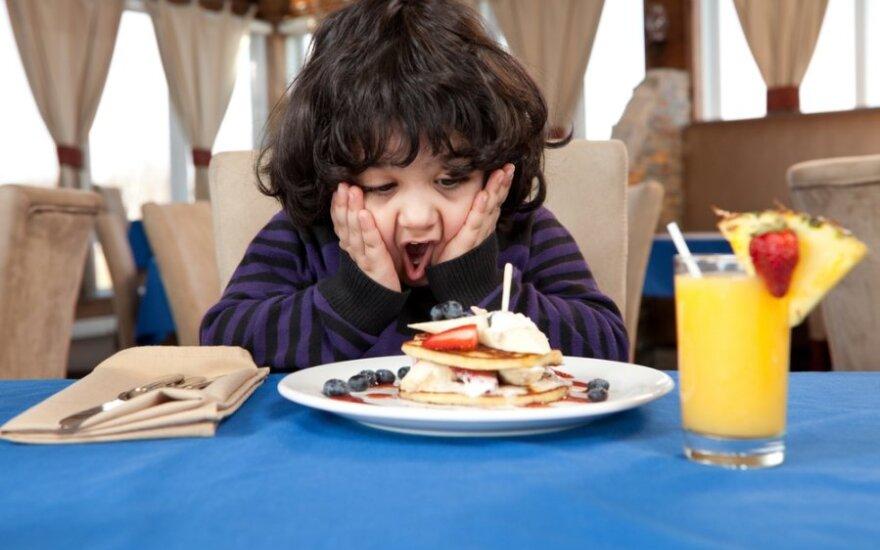 Tėvai su savo atžalomis galės rinktis draugiškus mažyliui restoranus
