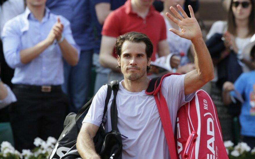 Teniso turnyrą Austrijos sostinėje laimėjo T. Haasas