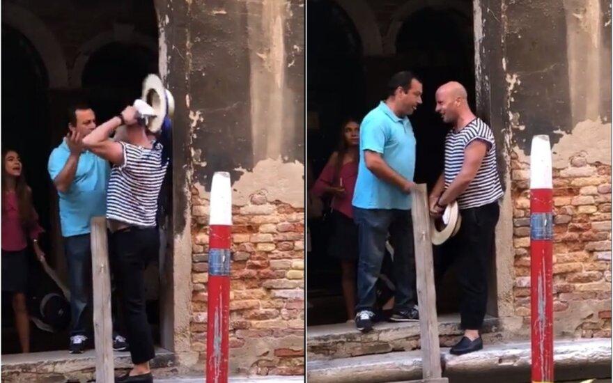 Turistų įžūlumas Venecijoje peržengia sveiko proto ribas