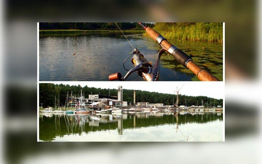 Žvejai Kauno mariose pasigenda, kur galėtų pasistatyti automobilį