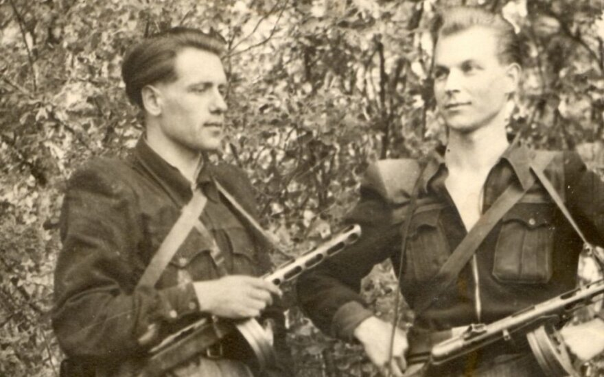 Panevėžyje bus laidojamas partizanas Streikus-Stumbras