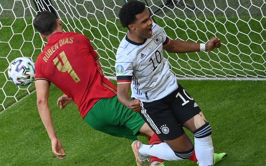 Euro 2020: Portugalija - Vokietija