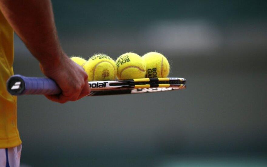L. Žviko ir latvio duetas suklupo jaunių teniso turnyro Lenkijoje finale
