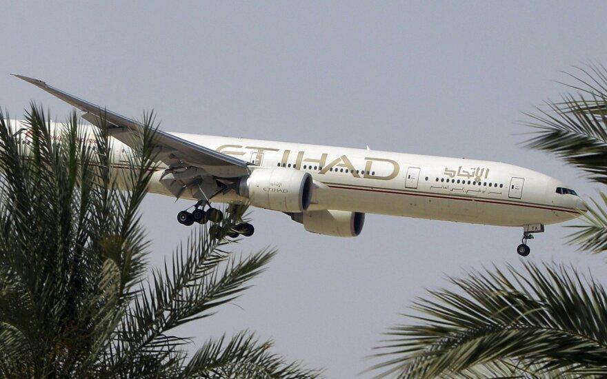 """""""Etihad Airways"""" siūlo brangiausią pasaulyje lėktuvo bilietą"""