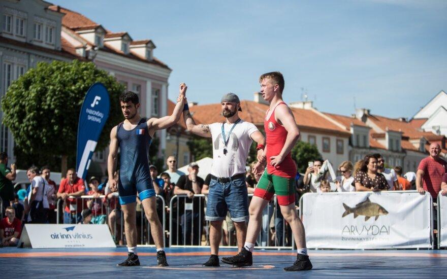 """Tarptautinis imtynių turnyras """"Vilnius Open 2019"""""""