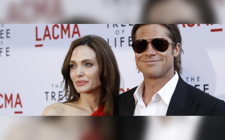 A.Jolie ir B.Pittas planuoja susituokti intymioje ceremonijoje Pietų Prancūzijoje