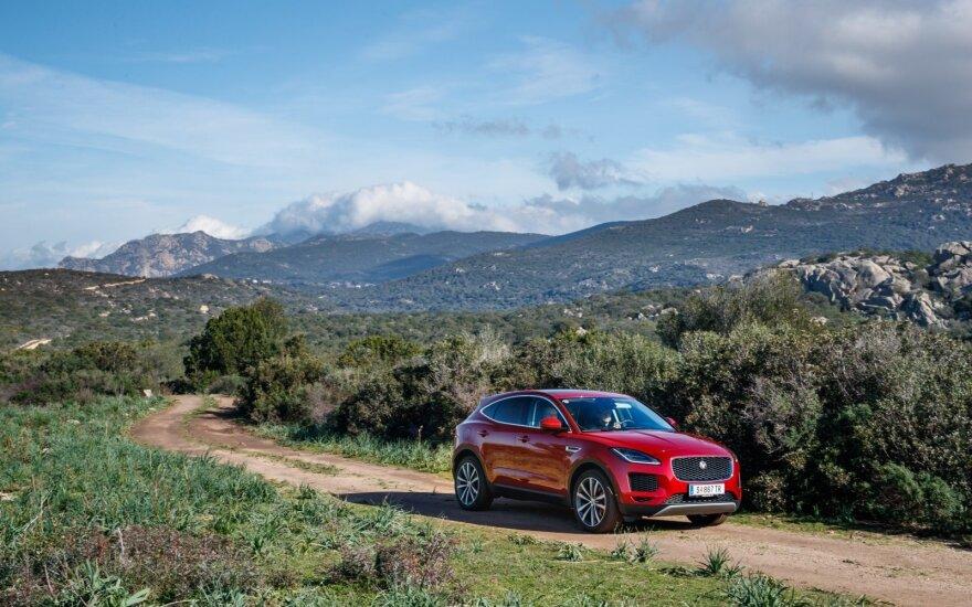 """""""Jaguar E-Pace"""" žurnalistams prisistatė Korskikoje"""