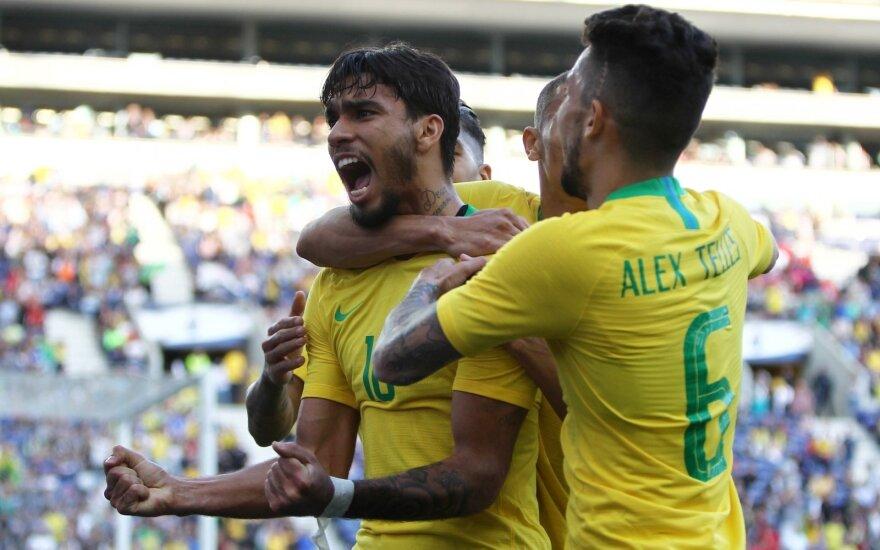 Brazilijos rinktinės saugas Lucasas Paqueta