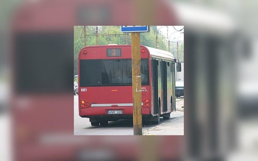 Autobusų parko kantrybę bando apsukruoliai