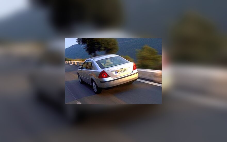 """Ford Mondeo"" automobilis"