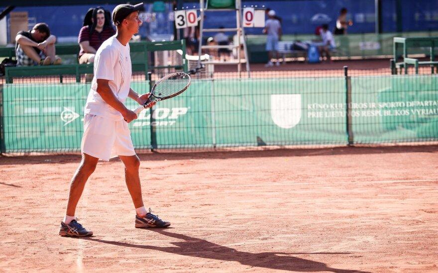 Lietuvos tenisininkai stoja į kovą Prezidento taurės turnyre