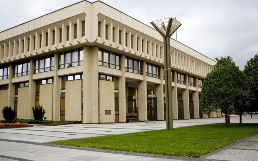 Lithuanian parliament to equip basement room for secret meetings