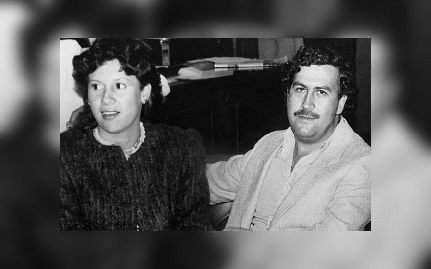 Pablo Escobaro našlės gyvenimo akimirkos