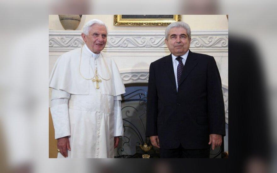 Benediktas XVI ir Demetris Christofias