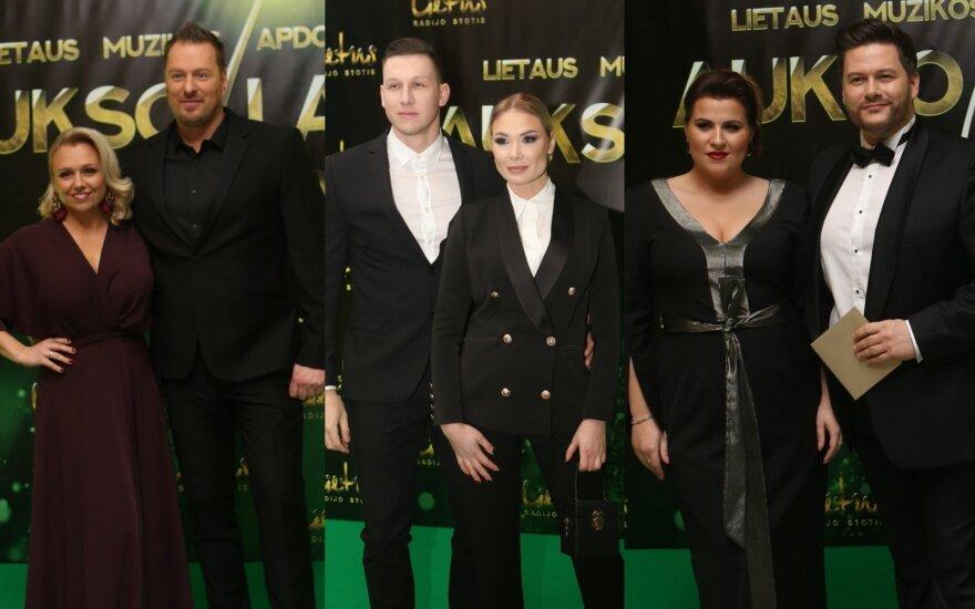 Violeta ir Vilius Tarasovai, Natalija Bunkė su draugu Edgaru, Merūnas ir Erika Vitulskiai