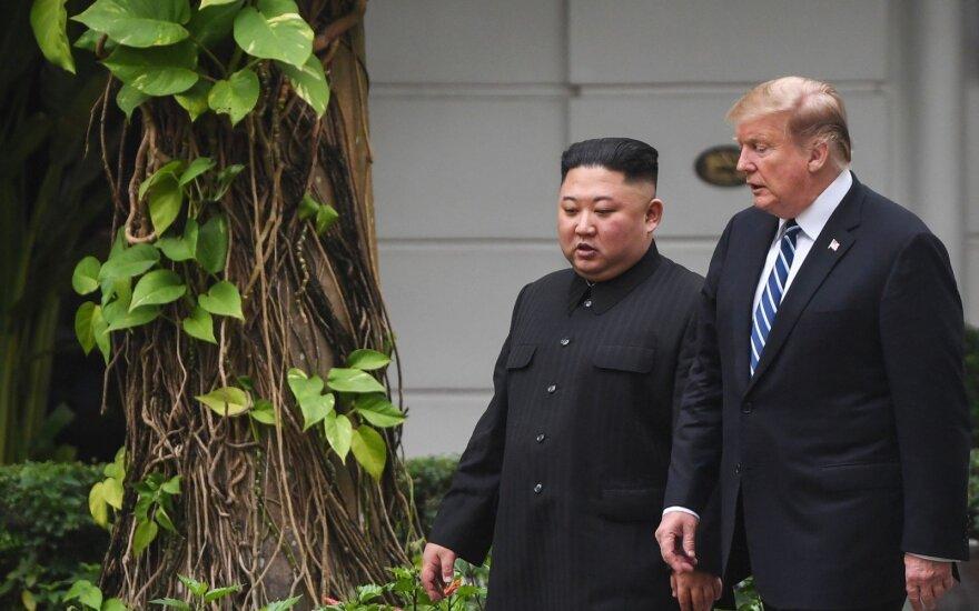 Kim Jong Uno ir Donaldo Trumpo susitikimas Hanojuje