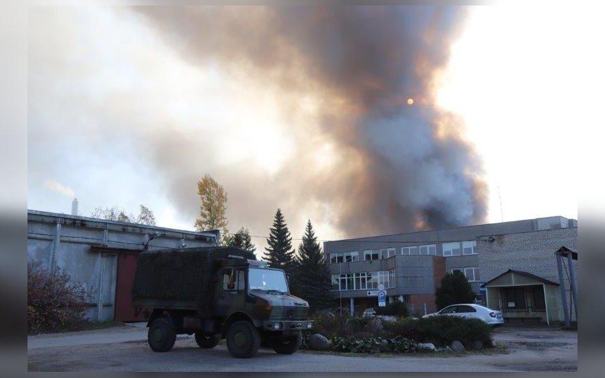 Situacija Alytuje po didžiulio gaisro