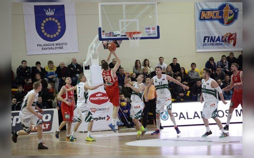 Palangos arenoje vyko NKL finalas
