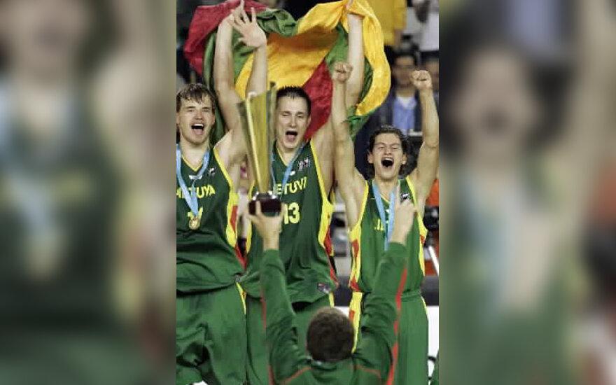 Lietuvos jaunimo krepšinio rinktinė triumfuoja Argentinoje vykusiame Pasaulio čempionate