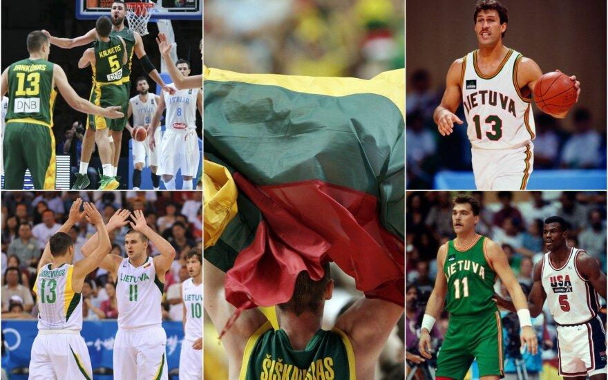 Lietuvos krepšinio rinktinės nariai