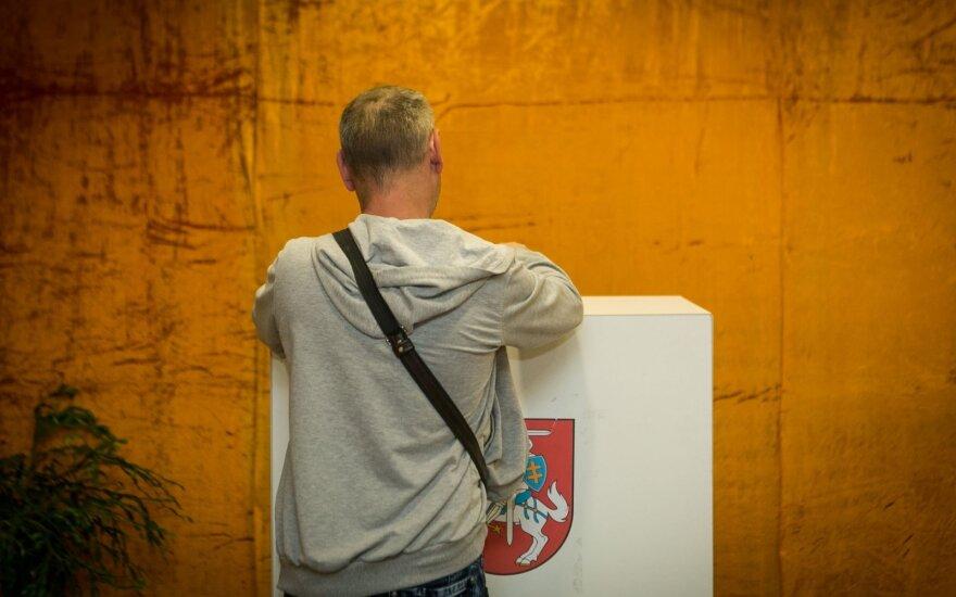 Lietuvoje draudžiama rinkimų agitacija