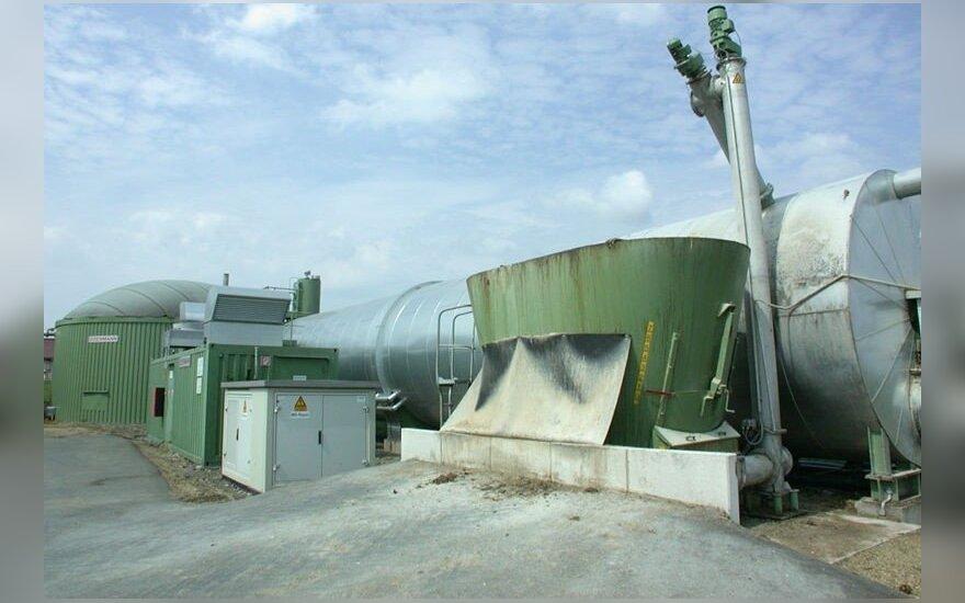 Biodujų jėgainė