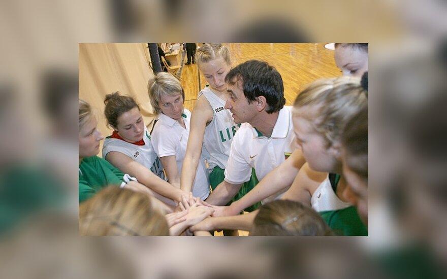 Lietuvos aštuoniolikmetės merginos Baltijos taurės turnyre liko trečios