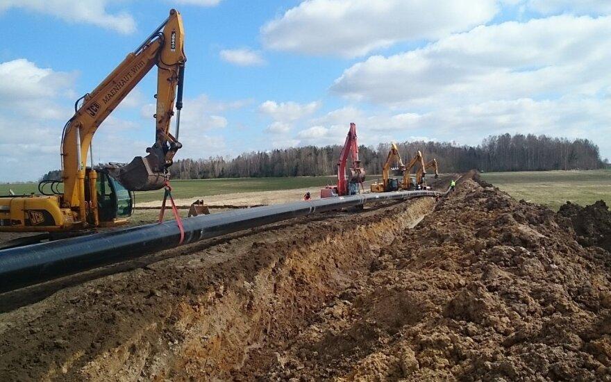 Pasirašyta svarbi sutartis dėl dujotiekio į Lenkiją