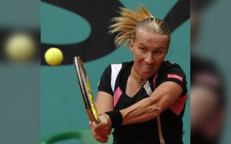 Atvirajame Prancūzijos teniso čempionate favoritės laiko negaišo (papildyta)