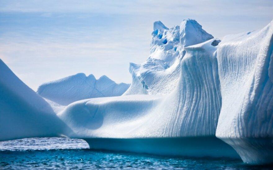 Antarktidos ledo skydo tirpsmo atradimas kelia naujo pasaulinio tvano baimę