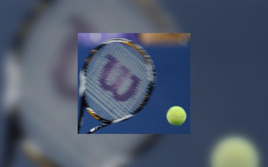 Du lietuviai jaunių teniso turnyrą Lenkijoje pradėjo pergalėmis