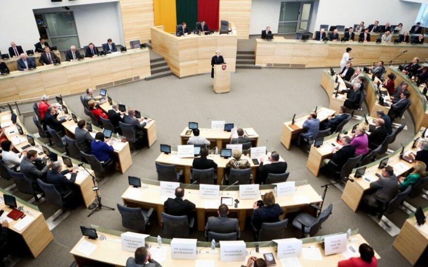 Per pavasario sesiją Seimas priėmė 230 įstatymų