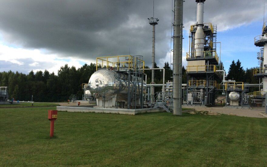 Inčukalns gas storage facility