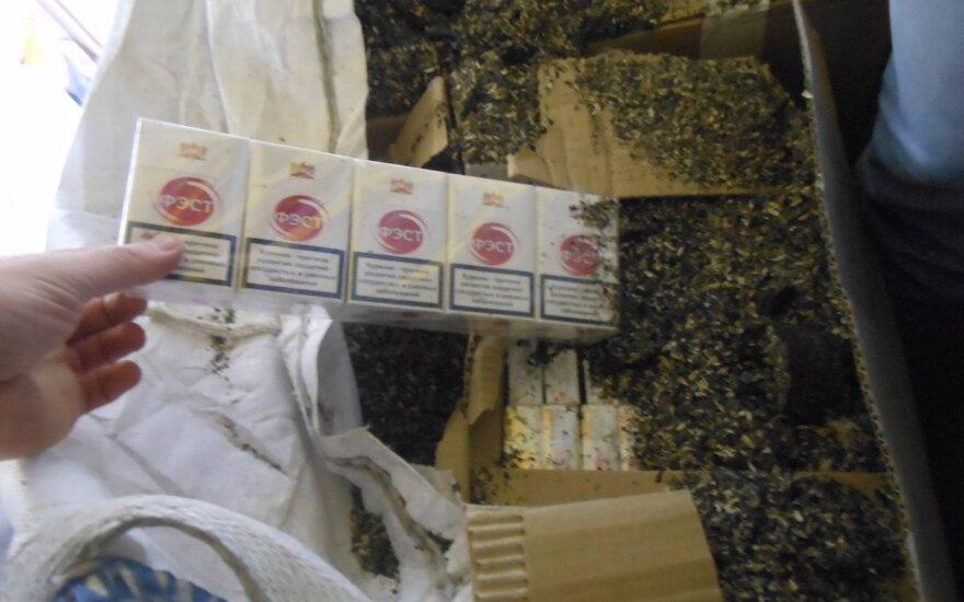 Muitinėje sulaikyta pusės milijono eurų vertės kontrabanda, kuri buvo paslėpta gana originaliai