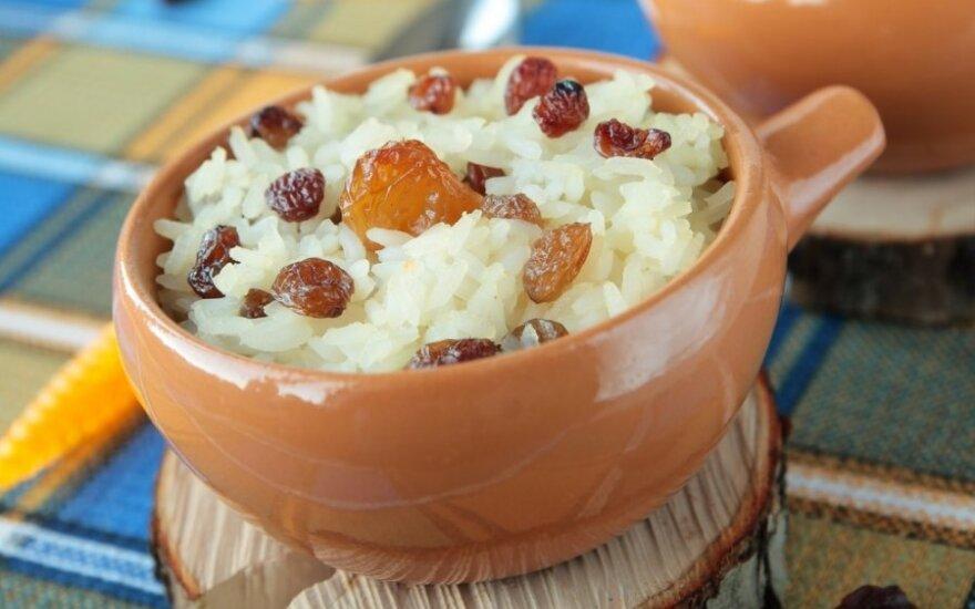 Pikantiški kolumbietiški ryžiai su kokoso pienu