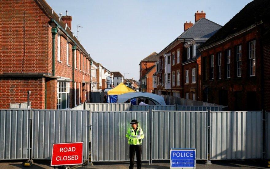 """Policija tiria vietą, kurioje """"Novičiok"""" apsinuodijo britų pora"""