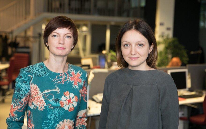 Monika Garbačiauskaitė-Budrienė ir Rasa Lukaitytė-Vnarauskienė