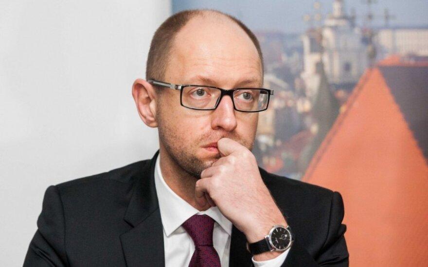 Rada nepalaikė A. Jaceniuko atsistatydinimo