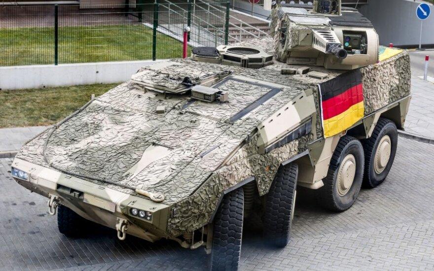 Vokietijos ginklų eksportas mažėja trečius metus iš eilės