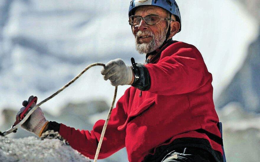 Filmavimo aikštelė kalnuose: dvigubas iššūkis filmo apie alpinistus kūrėjams