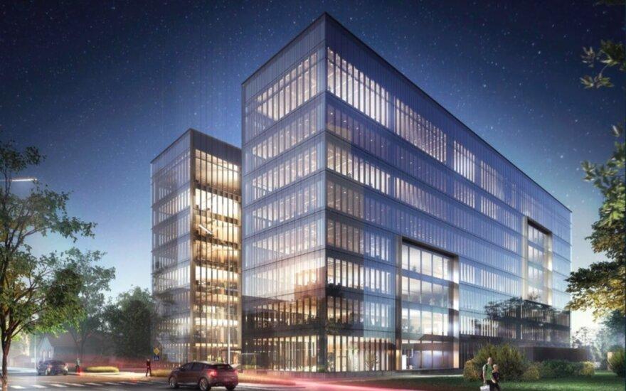 """Netoli prekybos centro """"Europa"""" iškils naujas biurų pastatas"""