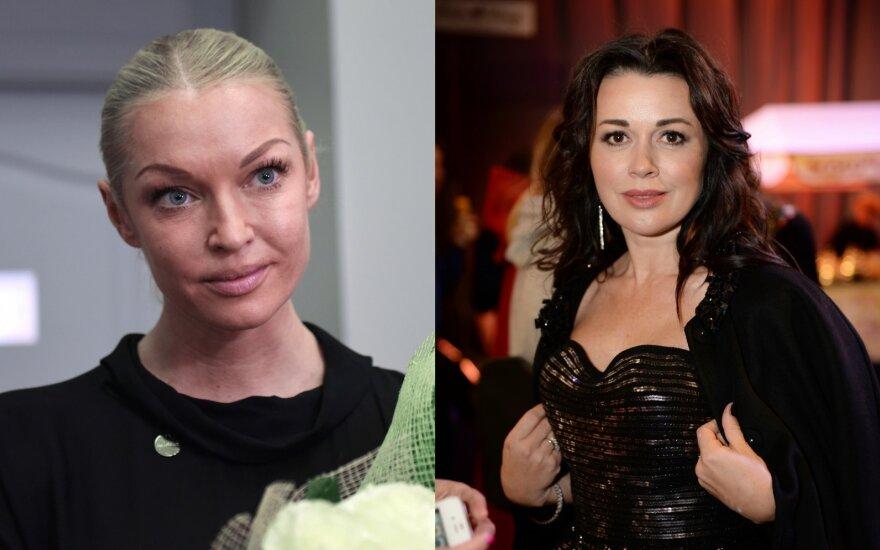 Anastasija Voločkova ir Anastasija Zavorotniuk