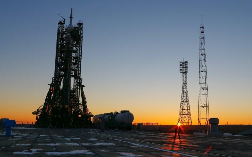 """Rusija planai kosmosui: 2021 m. išbandyti erdvėlaivį """"Federacija"""""""