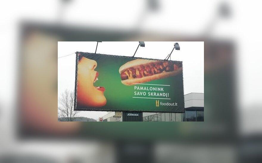Reklama Vilniuje
