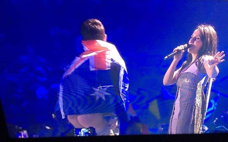 """Jamalos pasirodymas """"Eurovizijoje"""""""