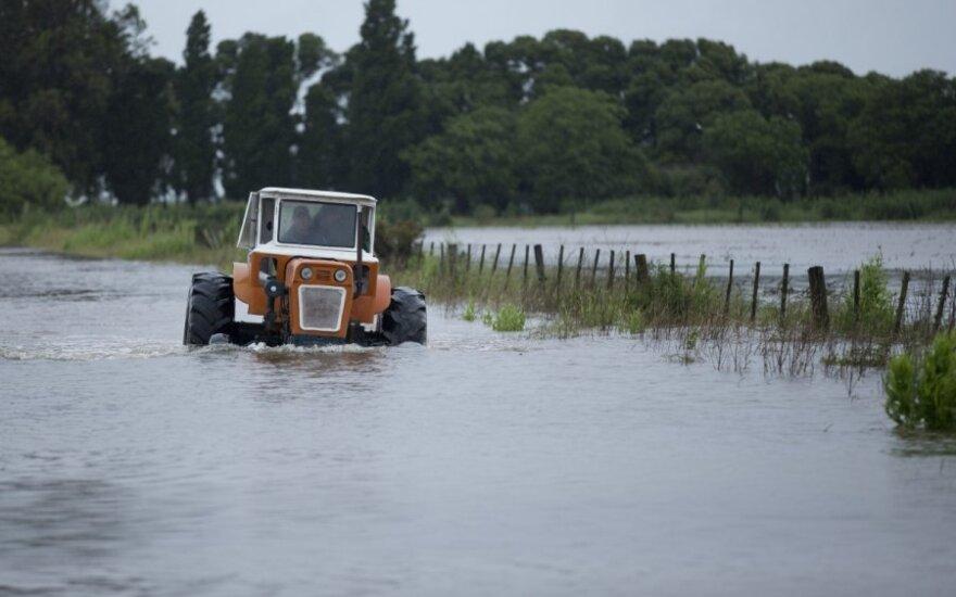Traktorius Argentijoje
