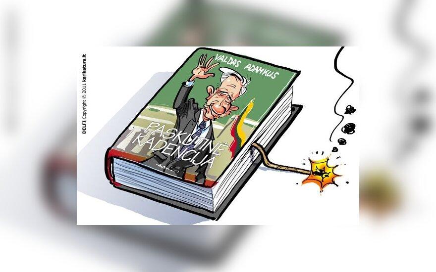 """K.Masiulis. V.Adamkaus dienoraštis – lietuviškasis """"Wikileaks"""""""