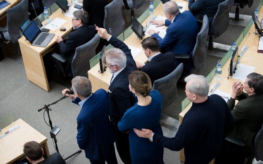 Pranckietis: dalyvavimas Seimo posėdžiuose yra gera savireklama